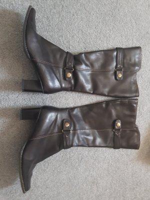 Jackboots dark brown