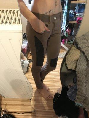 Schoene braune braune Hose in S