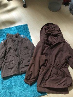 Schöne braune Jacken Größe L