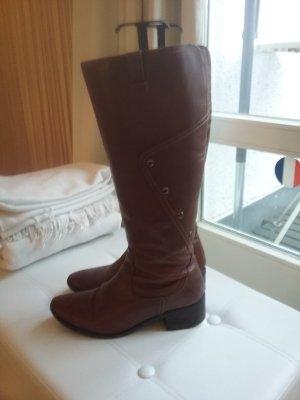 Heel Boots bronze-colored