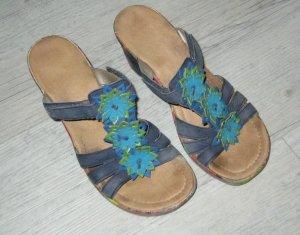 Schöne bunte Sandalette von Rieker