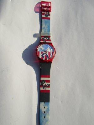 schöne bunte Swatch Uhr