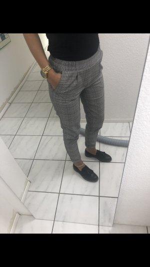Pantalon 7/8 argenté-gris