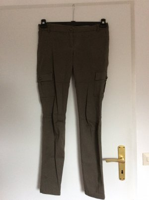 3 Suisses Cargo Pants green grey cotton
