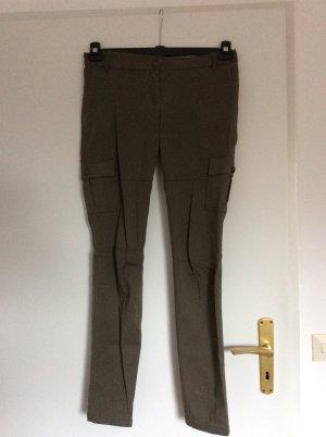3 Suisses Pantalone cargo grigio-verde Cotone