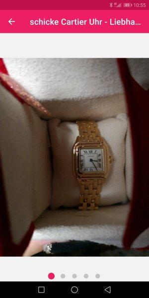 schöne Cartier Uhr - Liebhaberstück -