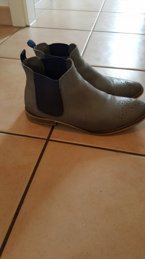 schöne chelsea Boots Graceland echt Leder
