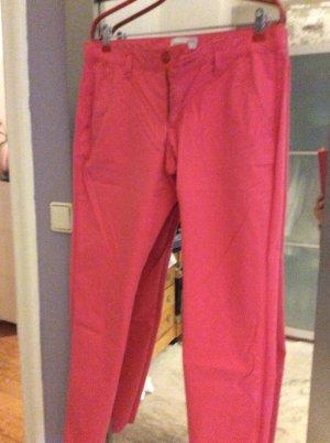 Esprit Chinos red-raspberry-red cotton