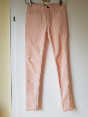 Pantalón de pana rosa Algodón
