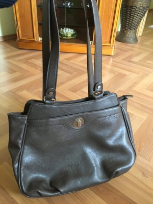 Handbag grey brown