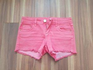 Hot pants salmone-magenta