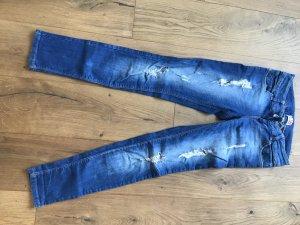 Schöne Denim Jeans Used Look Bershka