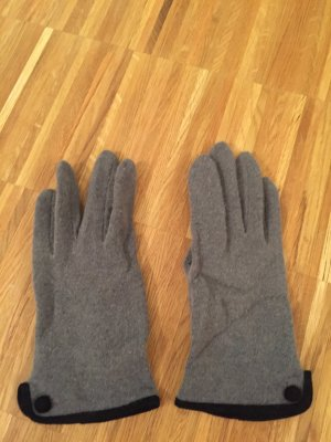 Gloves black-grey