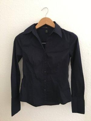 Schöne dunkelblaue Bluse von H&M