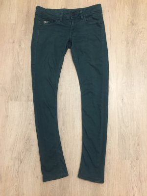 G-Star Raw Low Rise jeans donkergroen-bos Groen