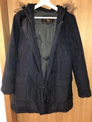 Woolrich Piumino blu scuro-marrone chiaro