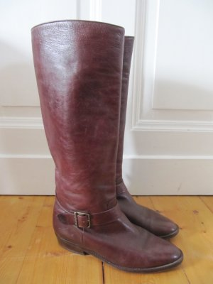 Kennel und Schmenger Jackboots bordeaux-brown red