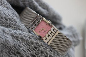 Esprit Watch silver-colored-pink