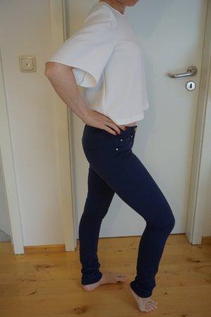 schöne elastische blaue Jeggings Röhrenhose GR. XS super Skinny Elsy Girl