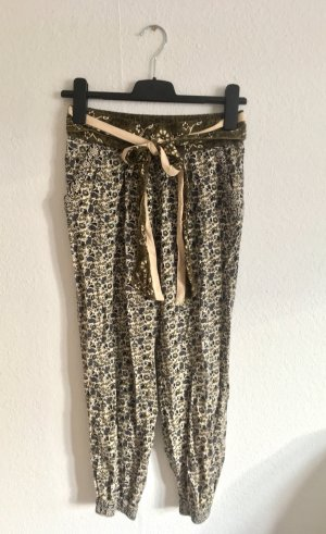 Zara Trafaluc Harem Pants multicolored