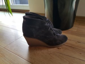 Esprit Botas de tobillo gris oscuro