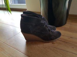 Esprit Low boot gris foncé