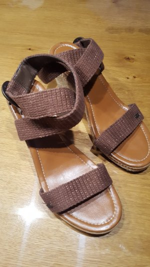 Schöne Esprit Wedges, Keilabsatz Sandalen