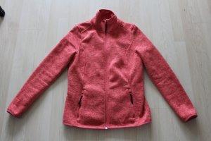 Crivit Chaqueta de forro polar rojo claro-albaricoque