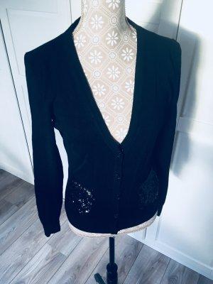 H&M Gilet tricoté noir