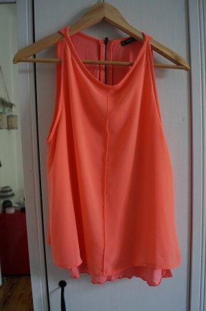 Schöne flattrige Bluse Gr.36/38 Mango Neon