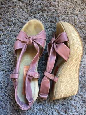 Wedge Sandals mauve
