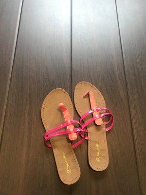 Schöne flip Flops in neonfarben, Größe 38