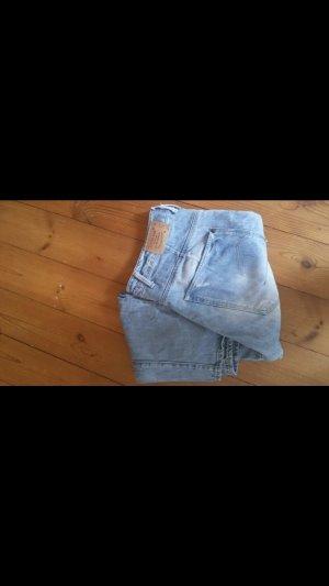 G-Star Pantalone a vita alta bianco-blu pallido