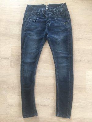 Gang Jeans boyfriend bleu-bleu foncé
