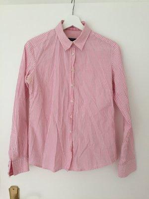 Schöne GANT Bluse, rosa-weiß gestreift in Größe 40