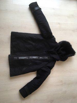 Comptoir des Cotonniers Veste à capuche noir
