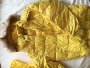 Schöne gelb Daunejacke
