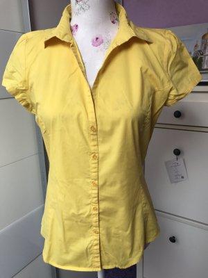 Schöne gelbe Bluse von Mango Gr 38