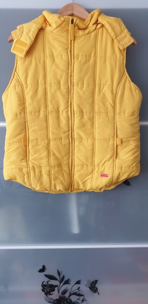 Hooded Vest yellow