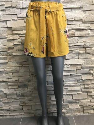 Opulence England High-Waist-Shorts multicolored