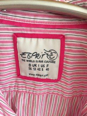 Schöne gestreifte Bluse von Esprit Gr.38