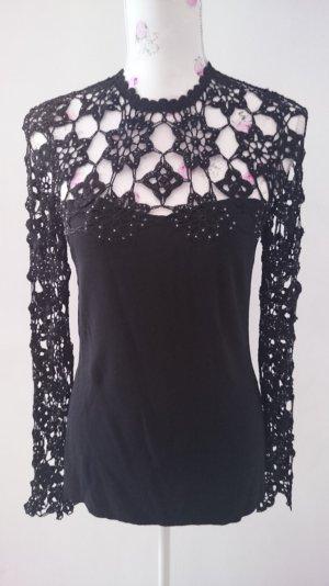 Schöne Glamur Party Pullover von Heine Gr 36