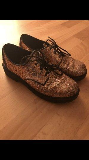 Schöne Glitzer Schuhe