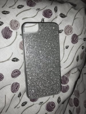 Mobile Phone Case silver-colored-light grey