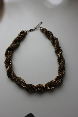 H&M Necklace bronze-colored-gold-colored