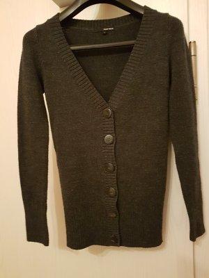 Schöne, graue Cardigan-Strickjacke (S) von Tally Weijl