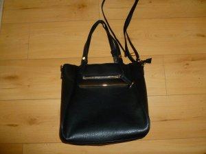 Schöne, große, schwarze Handtasche von Deichmann, wie neu
