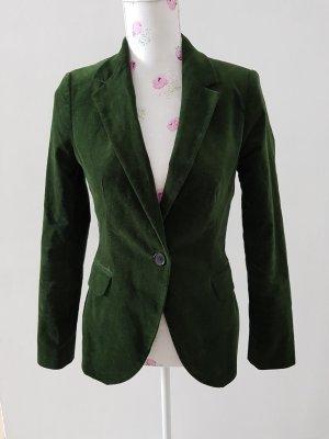Schöne Grün Blazer von Zara Gr M