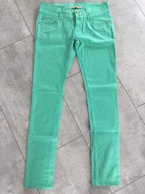 pantalón de cintura baja verde-verde claro