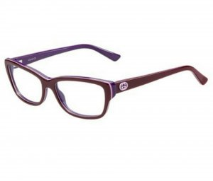 Gucci Butterfly Glasses multicolored acetate